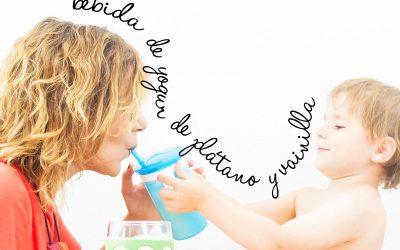 Refrescos saludables aptos para niños: bebida de yogur de plátano y vainilla (7)