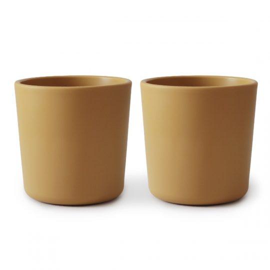 2 Vasos bebé Mushie -varios colores-