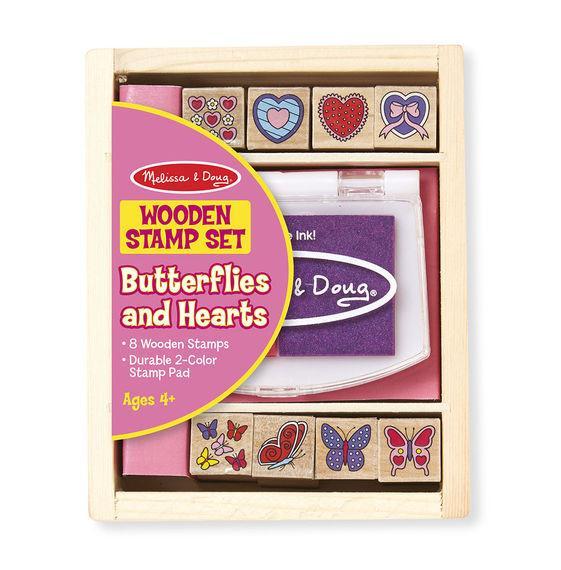 Set de Sellos para estampar Mariposas
