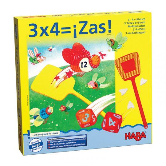 3x4= ¡Zas!