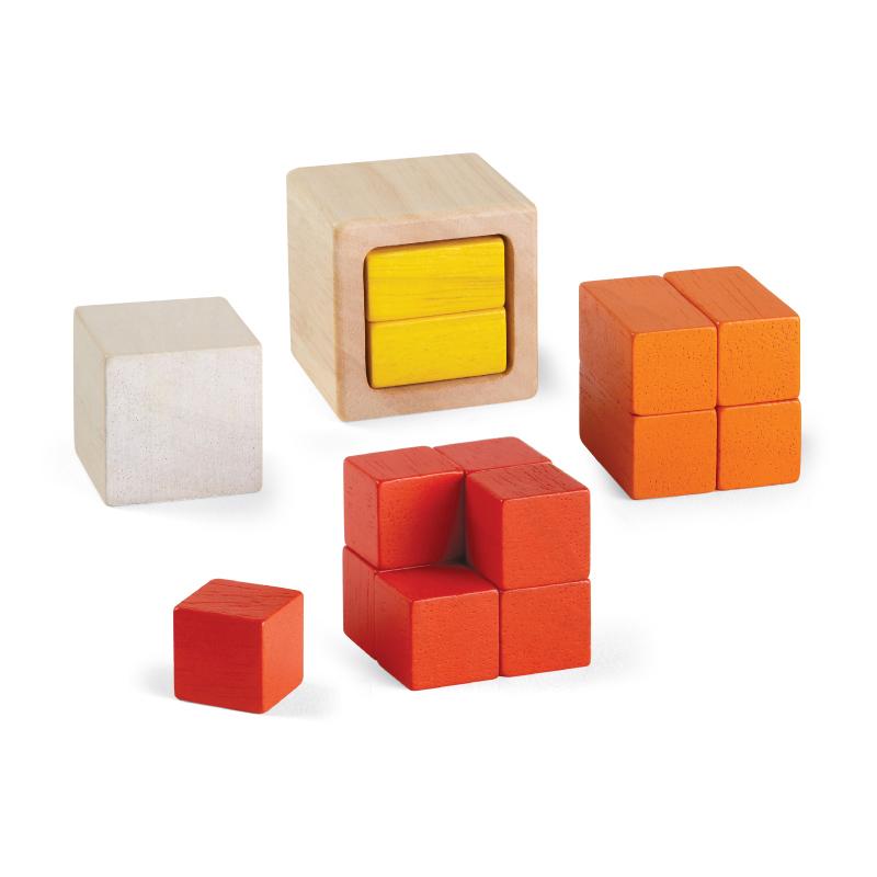 Cubos de fracción