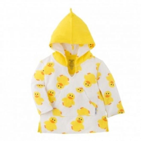 Albornoz infantil de algodón - Pato -810608030008