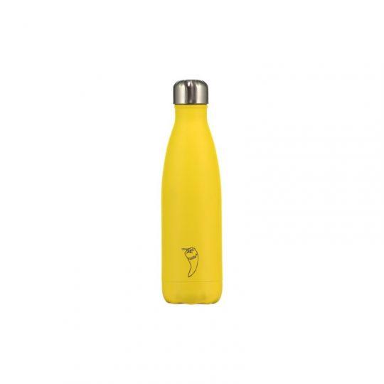 Botella Isotérmica Edición Mate - Amarillo 500 ml -