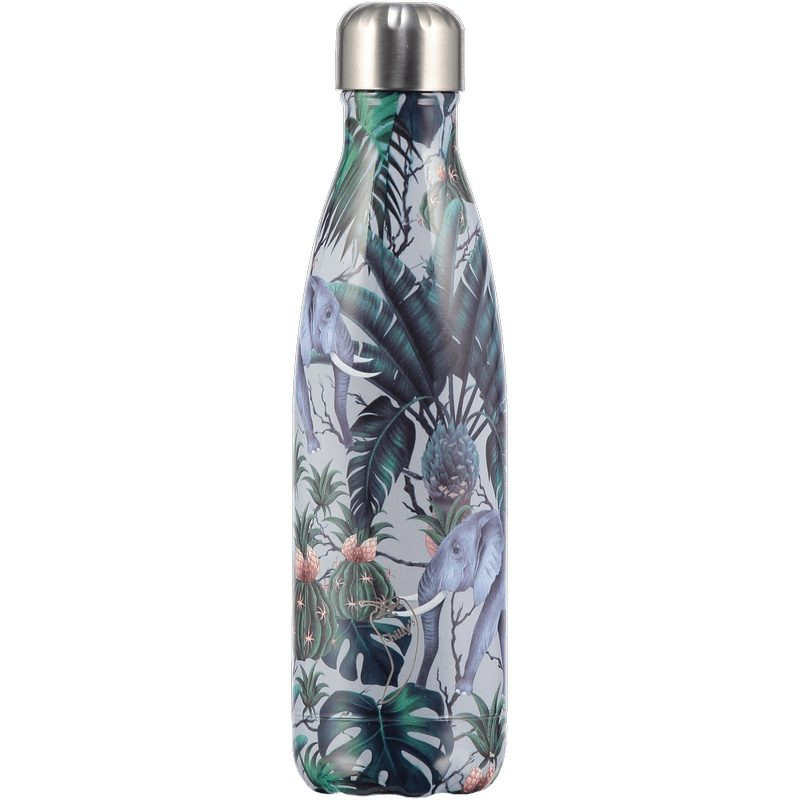 Botella inoxidable edición Tropical Elefante, Chilly's