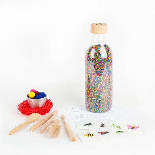 Pack botella sensorial Grande - WOW -