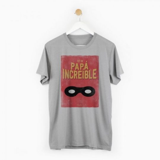 Camiseta 'Papá increíble'