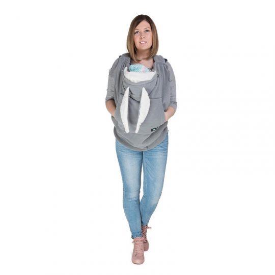 Cobertor de porteo Polar - Fleece Grey -