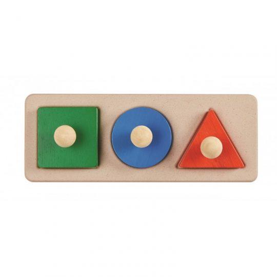 Encajable figuras geométricas Plan Toys
