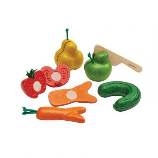 Surtido de frutas y verduras imperfectas