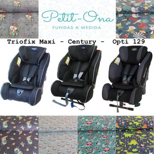 Funda Petit Ona Para Klippan Triofix Maxi/Century/Opti129 - Varios modelos -