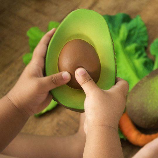 Mordedor de caucho - Arnold the avocado -