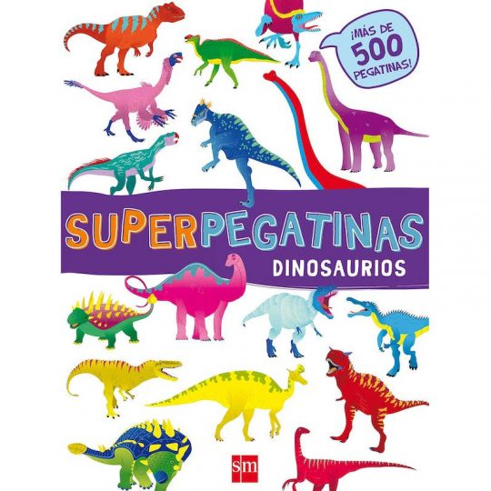 Súper pegatinas: Dinosaurios