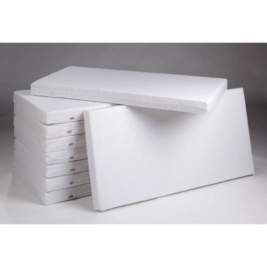 Colchón para cuna/cama infantil de fibra acolchado - varias medidas -