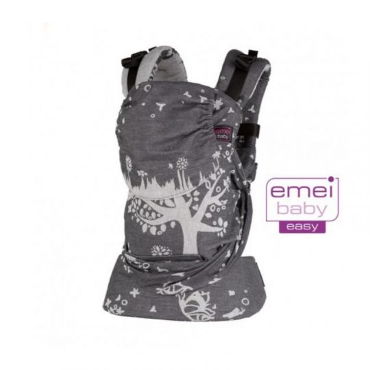Mochila Emeibaby Easy - Treemei gris -