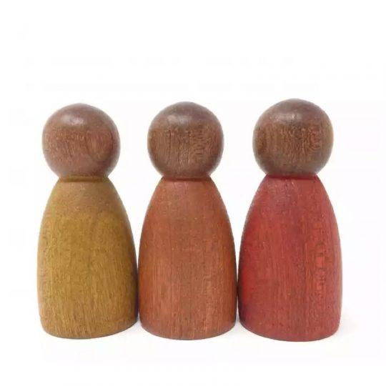 3 Nins Colores Cálidos