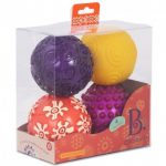 Set de 4 pelotas sensoriales oddballs, BYou