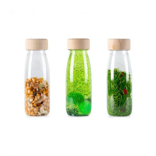 Pack 3 botellas sensoriales - Life -