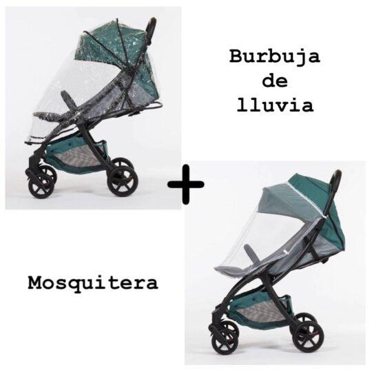 Pack Burbuja de lluvia y mosquitera Mast2
