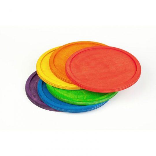 Platos arco iris