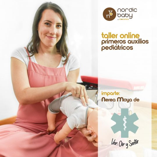 Taller online: Primeros Auxilios Pediátricos