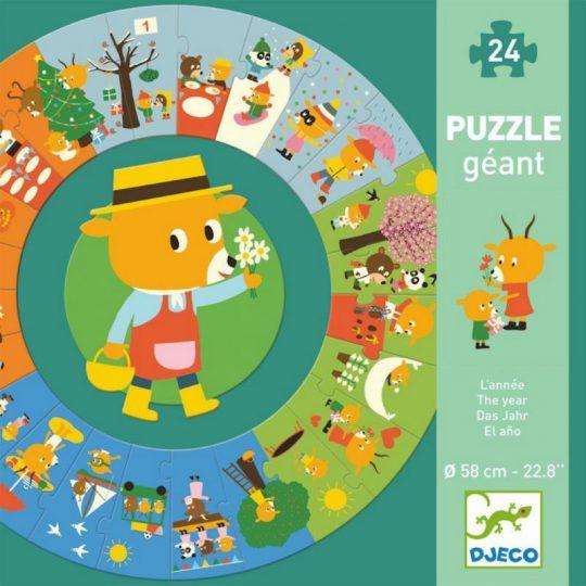 Puzzle Gigante El Año