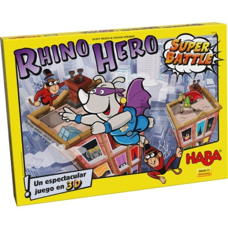 super rhino super battle haba