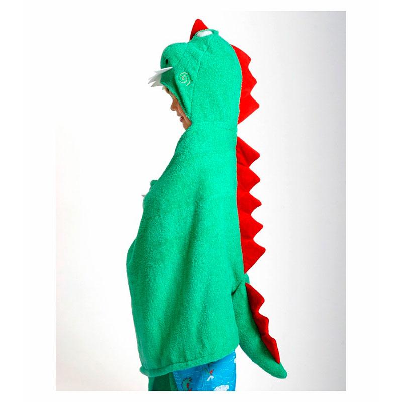 Toalla-Disfraz Niño/a - Devin el Dinosaurio -