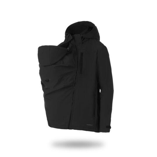 Abrigo de porteo Elbrus softshell para hombre 3 en 1