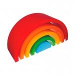 Arco Iris Waldorf Construcción Grande - 12 piezas -