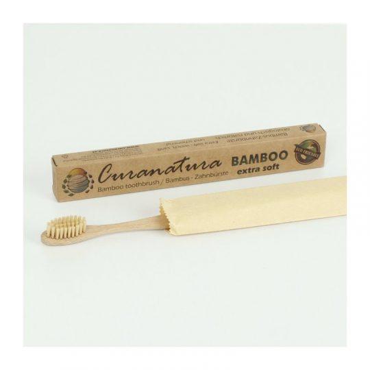 Cepillo dientes cerdas de bambú