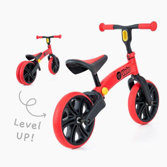 Bicicleta de equilibrio sin pedales evolutiva Yvelo Junior (18 meses a 4 años)