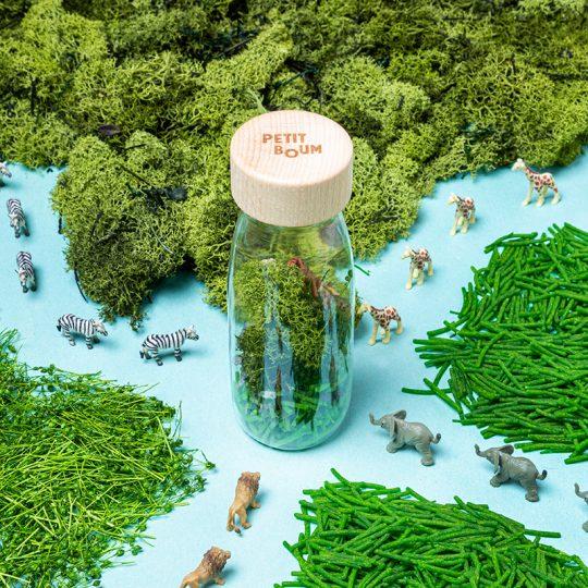 Botella sensorial Spy Bottle - Jungle -