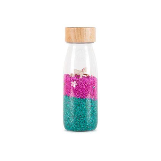 Botella sensorial con sonido - Unicornios -