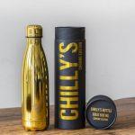 Botella Isotérmica Edición Cromado - Oro 500 ml -