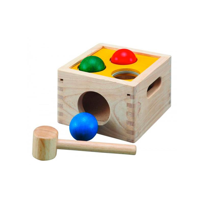 Golpea y cae Plan Toys