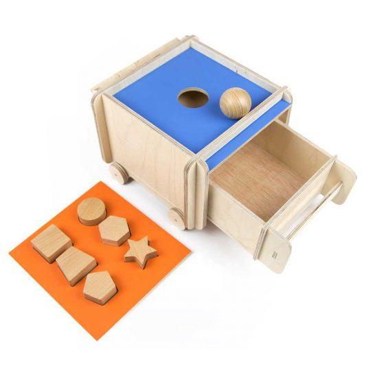 Caja de permanencia Montessori evolutiva Fizz