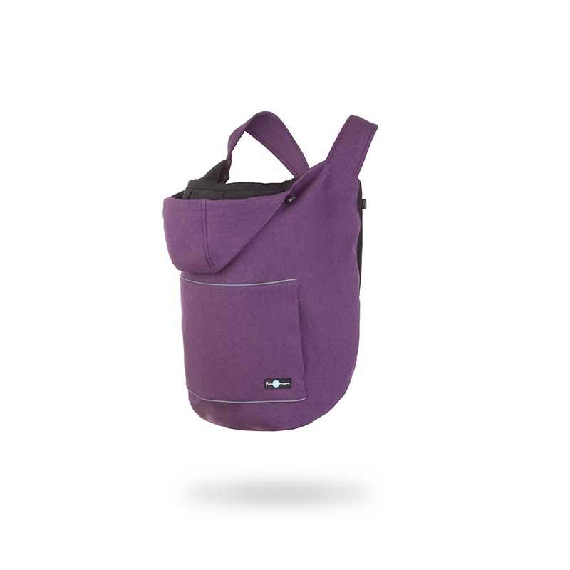 Cobertor de porteo Softshell 3 en 1 - Purple -