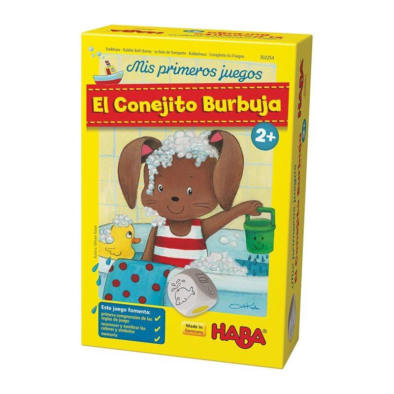 Mis primeros juegos: El Conejito Burbuja - Monetes