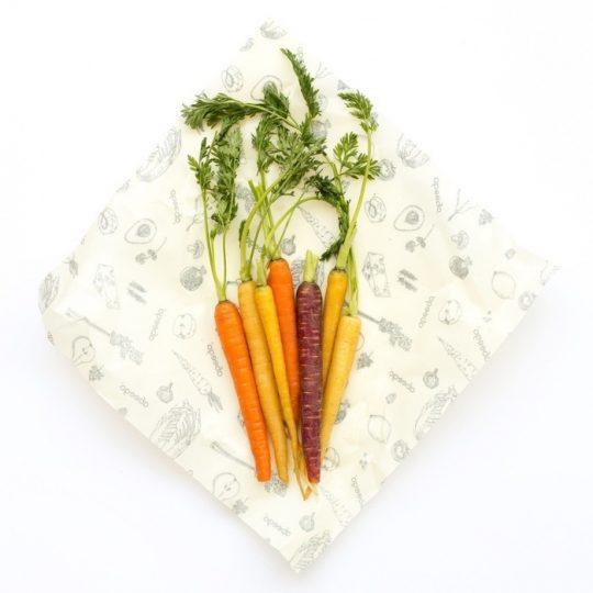 Pack de 2 envoltorios de alimentos reutilizable - Talla L -