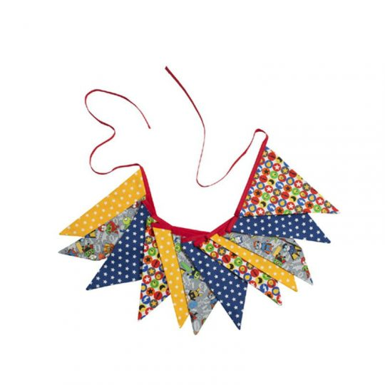 Banderola decorativa - Superhéroes -