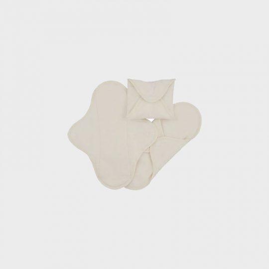 Compresas de tela Salva Slips (Pack 3) - Natural -