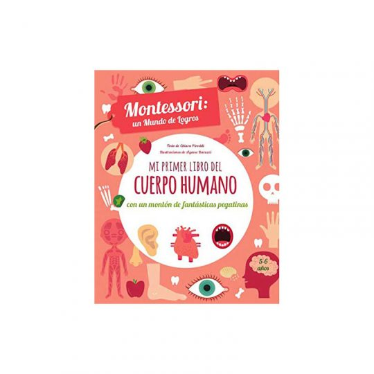 Montessori, un mundo de logros: Mi primer libro del cuerpo humano