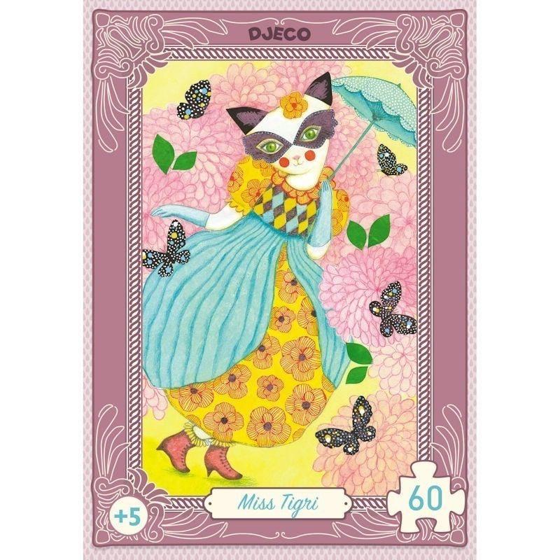 Mini puzzle Miss Tigri - Monetes