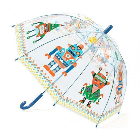 Paraguas Infantil Robots