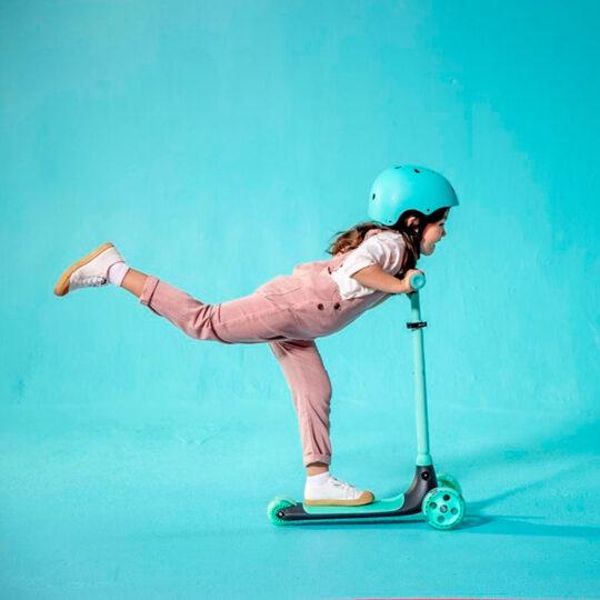 Patinete infantil Yvolution Y Glider Kiwi (3 a 8 años)