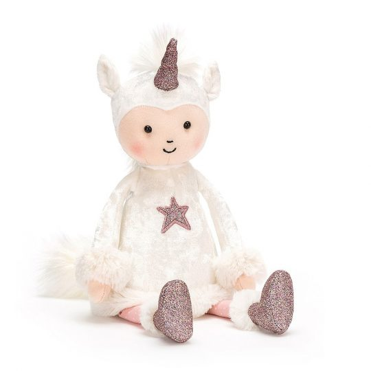 Peluche Jellycat Perky Unicorn Moon