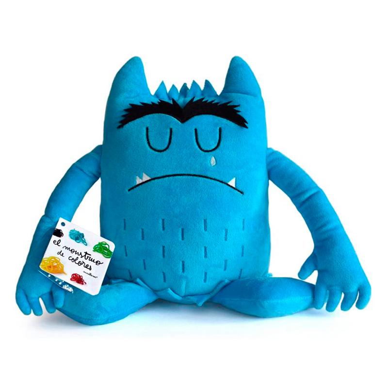 Peluche el Monstruo de Colores - Azul -