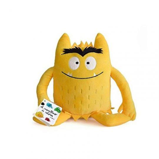 Peluche el Monstruo de Colores - Amarillo -