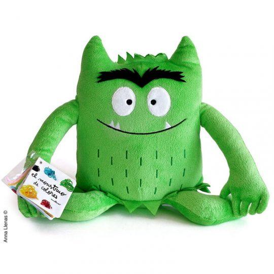 Peluche el Monstruo de Colores - Verde -