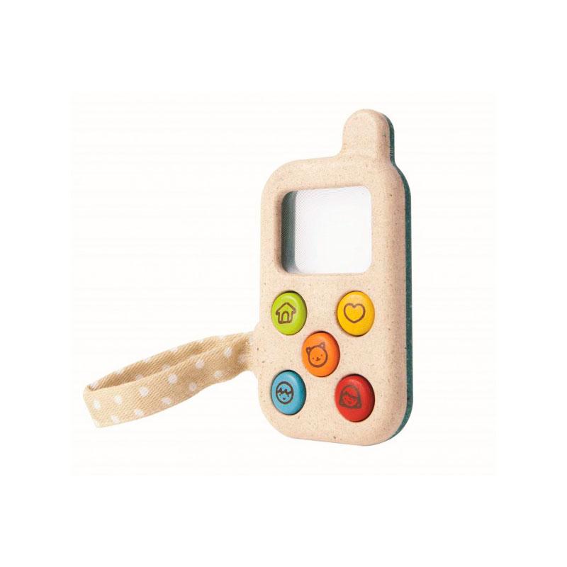 PlanPhone Móvil bebé de madera